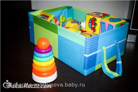 Коробка для игрушек своими руками фото 269
