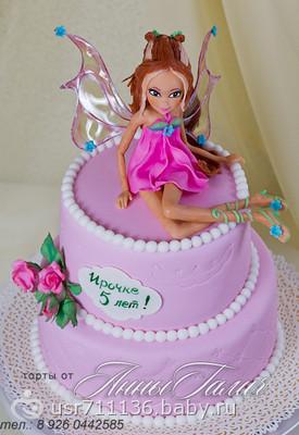 Как сделать торт винкс фото 635