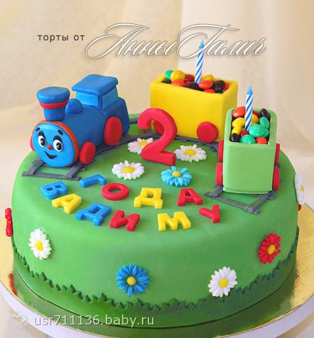 Тортики своими руками на день рождения детям 16 фото 61