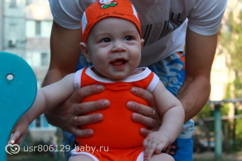 Усееее ну почти о наас и фотки  хехехехее...Было нам 9 числа 5 месяцееев...)))))))