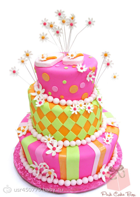 детские большие картинки тортов на день рождение