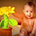 Солнышко с подсолнушком