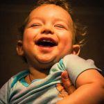А самая радостная радость - в крепких папиных руках!