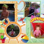 Все успела этим летом - и купаться, и играть, и маме с папой помогать и конечно баловать!!!)))