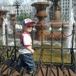 первый раз у фонтана=)